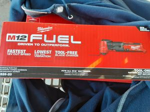Milwaukee M12 Fuel Oscillating Multi-tool for Sale in Chandler, AZ