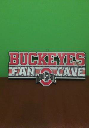 Ohio State Buckeyes Fan Cave 3D sign for Sale in Cleveland, OH