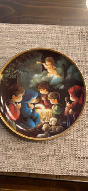 Precious moments collection plate for Sale in Riverside, CA