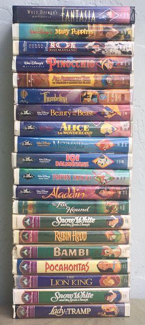 20 Original Disney VHS Movies for Sale in Cooper City, FL