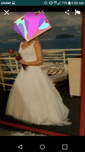 Wedding dress for Sale in Parkland, WA