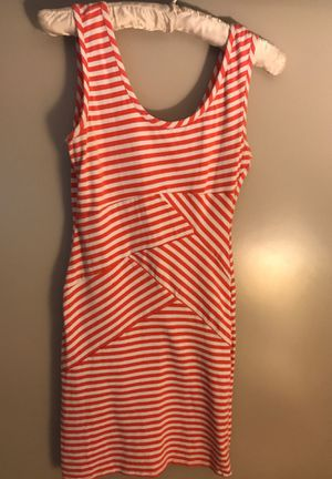 Pink & white stripe bodycon dress for Sale in Beaverton, OR