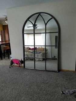 "Mirror model # M3838. 7ft tall x 56"" wide with antique finish. for Sale in Rock Island,  IL"
