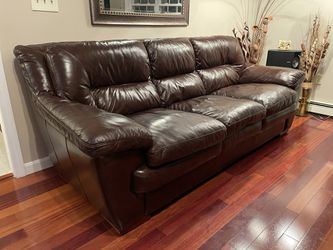 Leather set - 4 piece - High End for Sale in Tewksbury,  MA
