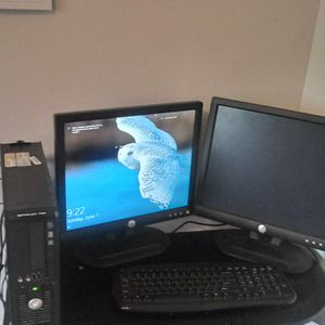 Dell computer HP printer ONN speaker for Sale in Oliver, WI