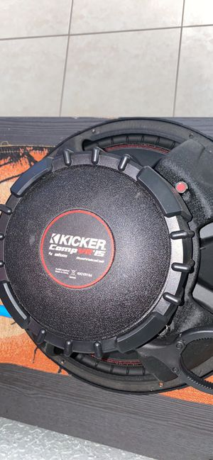 Kicker competition 15inch subwoofers for Sale in Boca Raton, FL