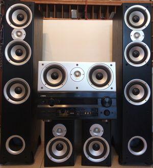 Yamaha AV Receiver With Polk Audio Speakers ~ NICE! for Sale in Port St. Lucie, FL