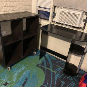 Desk And Shelves for Sale in Ellenwood, GA