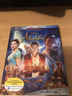 ALADDIN BLU-RAY DVD DIGITAL MOVIE for Sale in Long Beach, CA