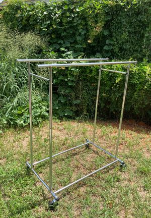 Rolling clothing rack for Sale in Winter Park, FL