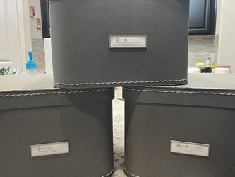 Recycled Paper Storage Box (Set Of 3) for Sale in Allen,  TX