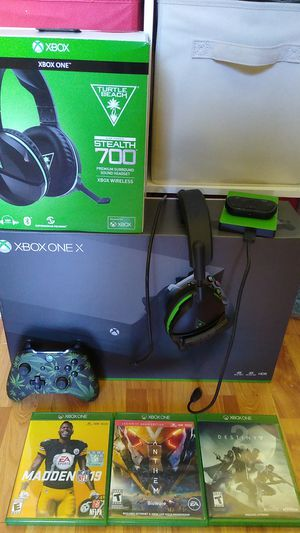 Xbox one X Bundle for Sale in Saint Charles, MD