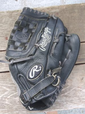 Large leather nice softball baseball glove for Sale in Fitchburg, WI