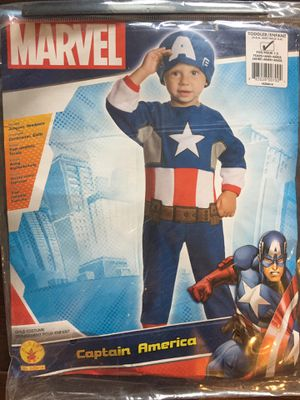 Halloween costume Captain America - 2T for Sale in Strongsville, OH