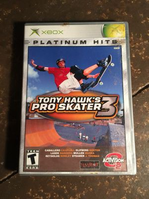 Tony Hawk Pro Skater 3 for Sale in St. Louis, MO