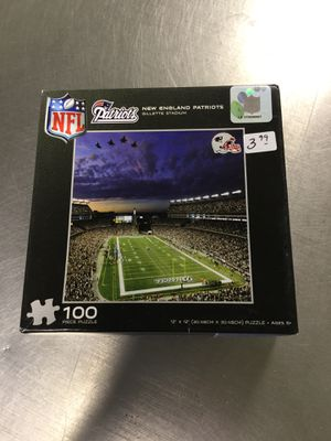 New England Patriots 100 piece puzzle for Sale in Matawan, NJ