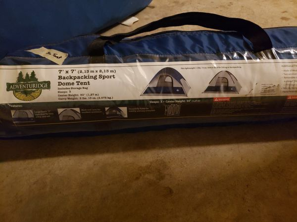Three Person tent for Camping and Backpacking