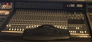 Mackie 24x8 analog mixing Console. With meter bridge and power supply.. SOLD AS IS- $750 OBO for Sale in Tampa, FL