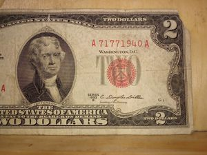 """$2 DOLLAR RED STAMP """"RARE"""" for Sale in Grants Pass, OR"""