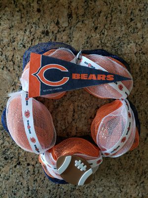 Chicago Bears Wreath for Sale in Roselle, IL
