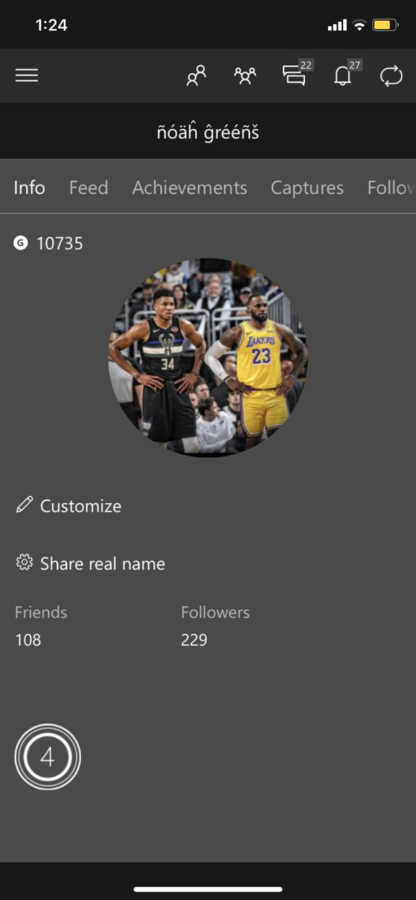 Stacked xbox account (look at desc)