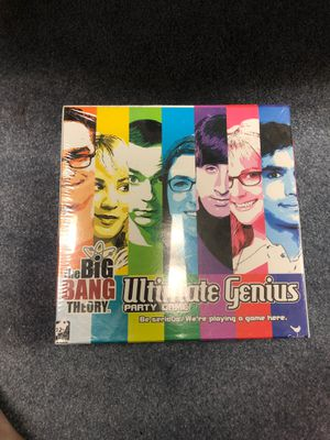 The Big Bang theory, ultimate genius party game for Sale in Dublin, OH