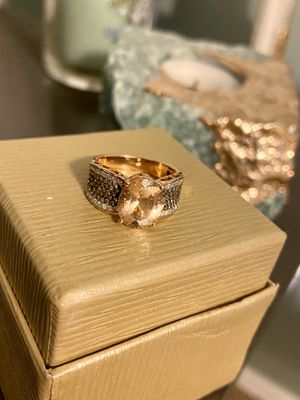 14k rose gold morganite ring for Sale in Clairton, PA
