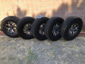 Jeep JL rubicon wrangler unlimited wheels and tires for Sale in Lynwood, CA