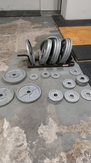 Steel Olympic Weights Plates for Sale in Clearwater, FL