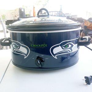 Seattle Seahawks crock pot bundle for Sale in Glendale, AZ