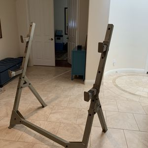 Olympic Bench Press \ Squat Rack for Sale in Simi Valley, CA