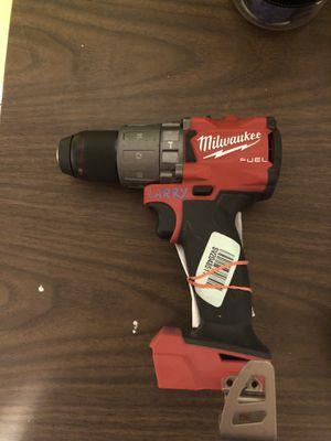 "Manufacturer Refurbished Milwaukee M18 Fuel 1/2"" hammer drill for Sale in Odessa, TX"