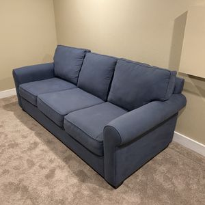 Pottery Barn Sleeper Sofa (Blue) for Sale in Milwaukie, OR