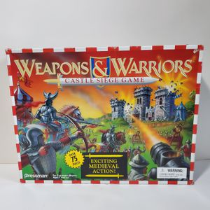 Weapons & Warriors Castle Siege Board Game 2000 Pressman Incomplete for Sale in Bartlett, IL