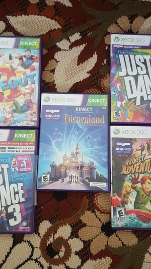 Xbox 360 Kinect games for Sale in Vienna, VA