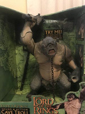 Lord of the Rings Cave Troll Action Figure for Sale in Silver Spring, MD