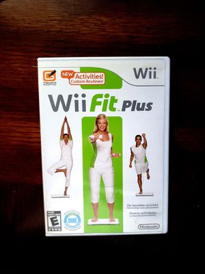 Wii Fit Plus for Sale in Los Angeles, CA