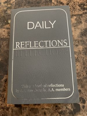 Daily reflections for anyone struggling with an addiction for Sale in Lithonia, GA