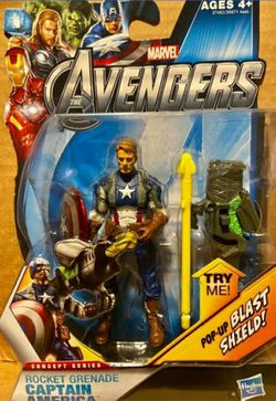 2012 Marvels Avengers Captain America Steve Rogers Variant Figure for Sale in Modesto,  CA