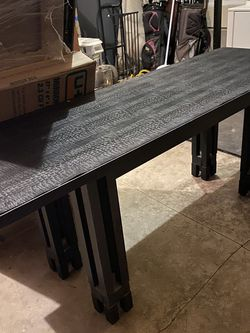 Long Black Table Desk for Sale in Boring,  OR