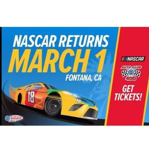 Nascar tickets for Saturday 2/29 **On hold** for Sale in Fontana, CA