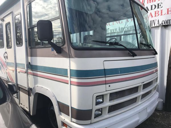 1996 RV. Low miles runs great everything's work