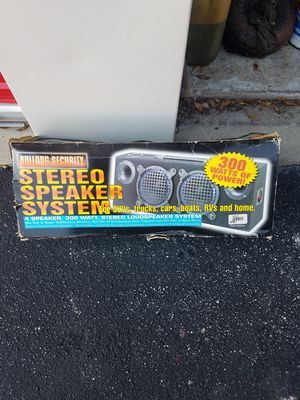 300 watt stereo speaker system (brand new) for Sale in Orlando, FL