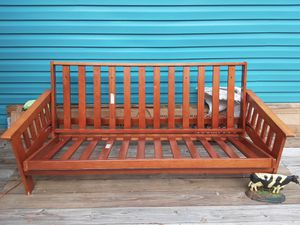 $35. Very Good Condition Futon Wood Frame Only for Sale in Clearwater, FL