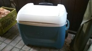 Large Igloo Cooler wheels & handle for Sale in Culver City, CA