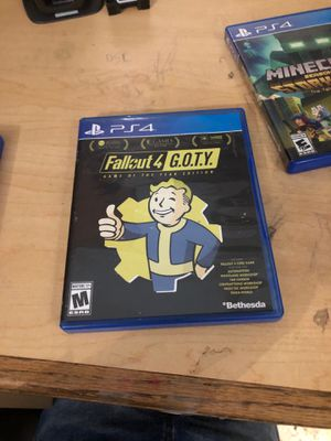 Fallout 4 G.O.T.Y. Game of the year edition for Sale in Homestead, FL