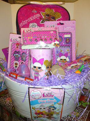 Lol Surprise Easter Basket for Sale in San Bernardino, CA