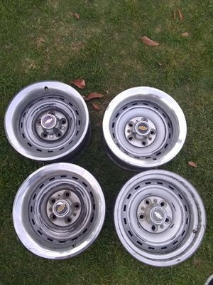 Chevy Rally Rims for Sale in Fresno, CA