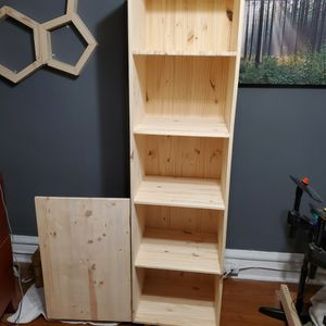 Handmade Wood Shelf/cabinet for Sale in Chicago, IL