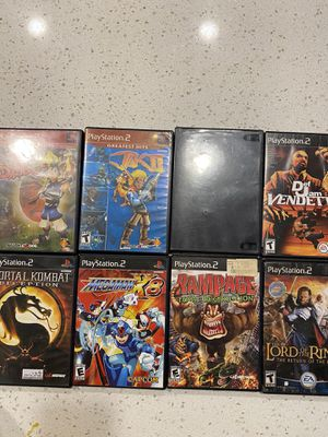 PS2 games for Sale in Anaheim, CA